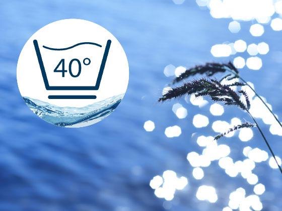 "Umwelt-Tipp ""40° Wäsche"""