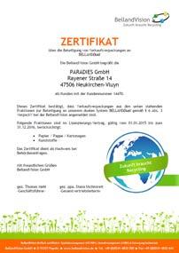 CO2-Klimazertifikat