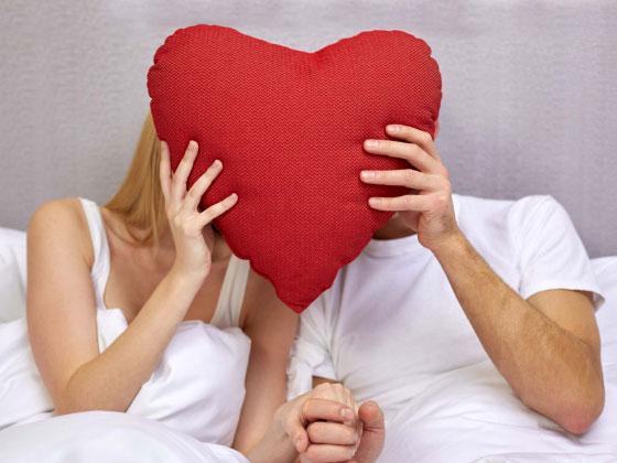 Decken mit Herz