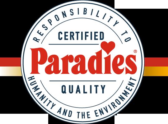Qualidade Paradies comprovada